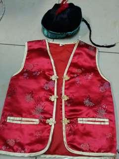 Chinese Vest & Cap