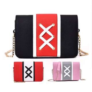 Readystock Women Fashion XX Sling Bag