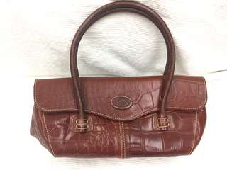 Free shipping Brown Leather Bag