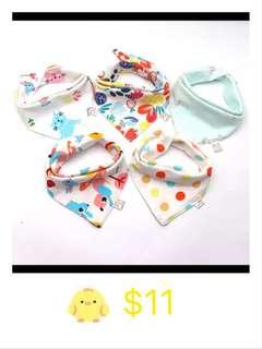 Baby Bib 5 pcs only $11