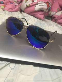 鏡面太陽眼鏡 送眼鏡布