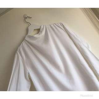 🚚 全新 日本帶回 白色棉質上衣