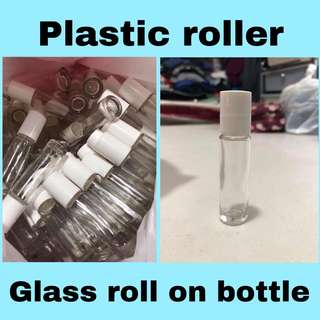 10 ml Glass roll on bottle