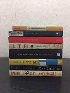 Assortment Of Novels/ Books