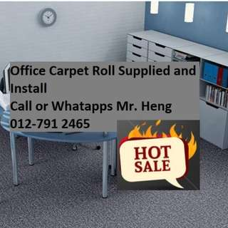 Parit Buntar Office Carpet Roll Call Mr. Heng 012-7912465