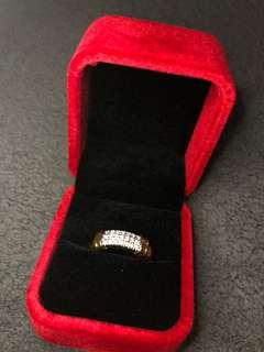 Diamond Ring (sz 7.5-8)