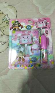 Robocar Poli cute notebook(small)