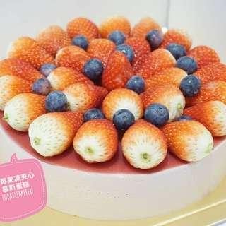 手作芒果慕斯蛋糕