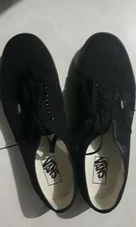 VANS AUTHENTIC BLACK ORIGINAL SECOND
