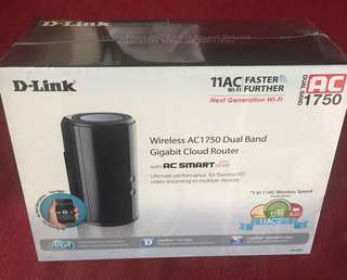 D-Link AC1750 Dual Band Gigabit Cloud Router