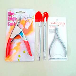 Nail art Manicure tools| Nail clipper| Cuticle clipper