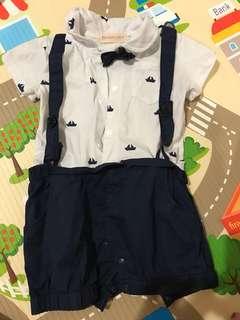 Baby boy tuxedo suit