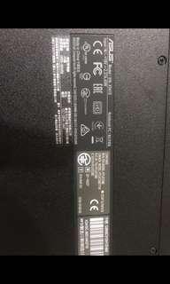 ASUS X541S筆電
