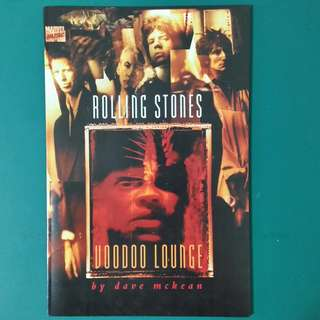 The Rolling Stones- Voodoo Lounge comic