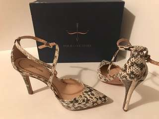 Genuine snake skin brand new from Pour La Victoire with tags