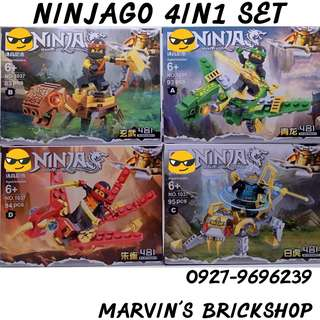 For Sale NINJAGO 4in1 Building Blocks Toys