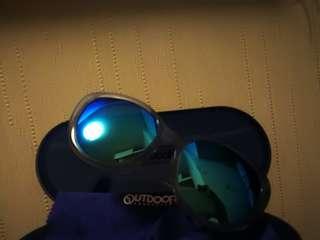 Outdoor粉藍偏光鏡太陽眼鏡