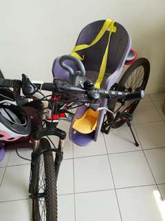 Bicycle with childseat