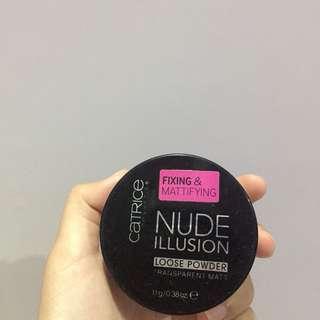 Catrice Fix & Mattifying Nude Illusion Loose Powder
