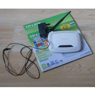 👩🏻💻📱 TP-LINK TL-WR740N , 150Mbps Wireless N Router