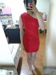 Body n Soul red dress