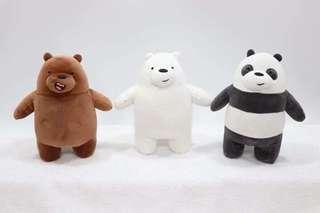We bare bears plushie