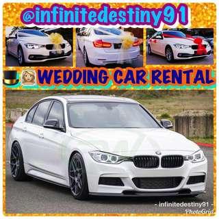WEDDING CAR RENTAL M SPORTS F30 & CAR RENTAL HYUNDAI STAREX GRAND