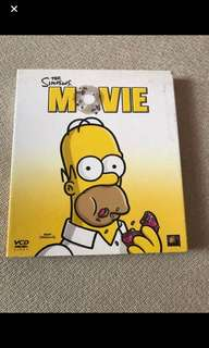 Vcd Box C1 - The Simpsons Movie