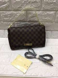 Louis vuitton Favorite 2 way sling and shoulder bag