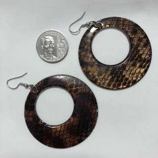 Earrings - Animal Print