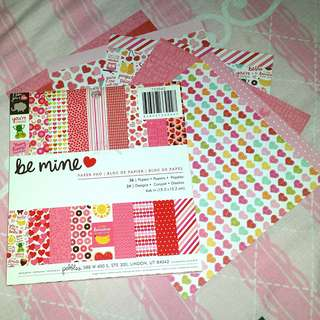 Valentine's Day themed deco/craft paper