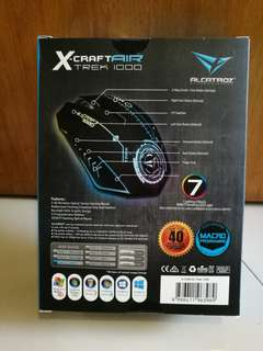 Alcatroz X-Craft Air Trek 1000 Rechargeable Wireless Gaming Mouse