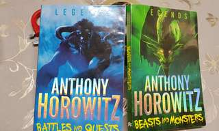 Anthony Horowitz, 2 Books for