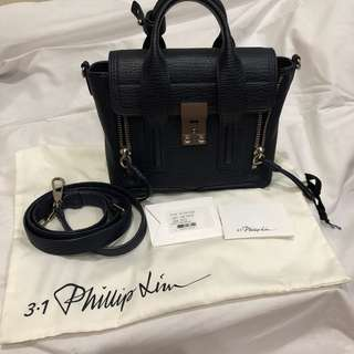 3.1 PHILLIP LIM Mini Pashli in Ink Nickle SHW
