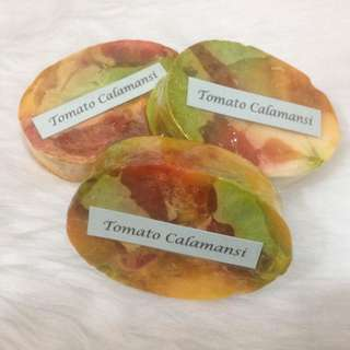 (3 for 50) Tomato Calamansi Oval Soap