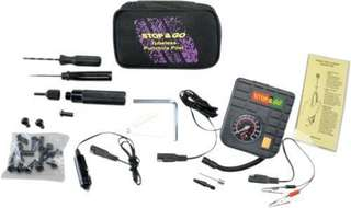 Motorcycle Tubeless Puncture Repair Kit 6000 by Stop & Go International