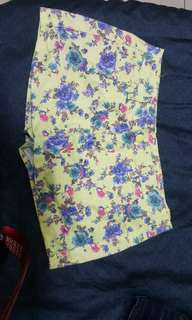 🚚 黃花褲裙