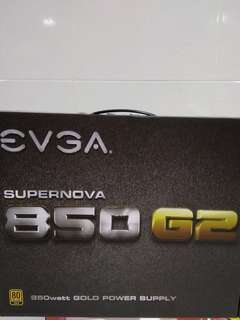 Evga G2 Power supply 850W (LOCAL)