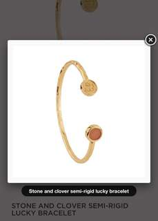 Les Nereides Lucky Bangle 14k 金色手鐲