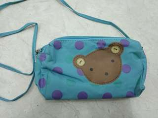 Teddybear sling bag