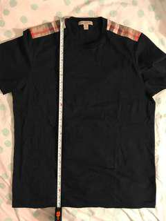 Burberry t shirt navy size small
