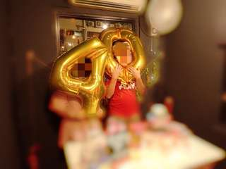 "Big Gold Colour Foil Number Balloon ""40"" for birthday party"