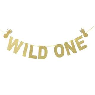 Wild One Bunting