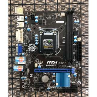 MSI B85M motherboard LGA 1150 for 4th Gen I3 /i5/i7 CPU