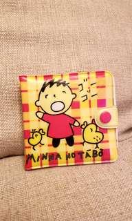 1996年 大口仔 膠銀包 made  in Japan