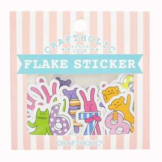 Craftholic Flake Stickers