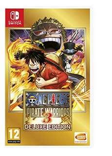 Nintendo switch one piece pirate warrior 3 game
