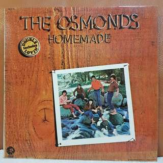 The Osmonds - Homemade Vinyl Record