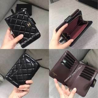 Chanel Lambskin Medium wallet