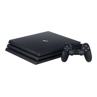 PS4 1Tb Pro (Buy Any Game Or Accessory To Get $24 Off Final Bill)